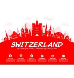 Switzerland vector image