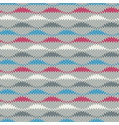 Textured wavy background vector