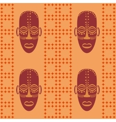 Abstract ethnic pattern vector image vector image