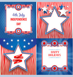 independence day holiday backgrounds vector image