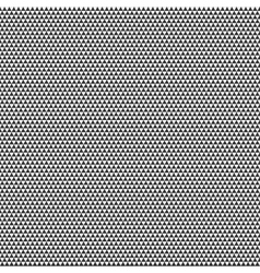 Big seamless gray pattern triangles on white vector image