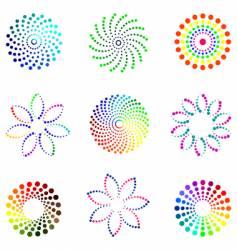 dot design elements vector image