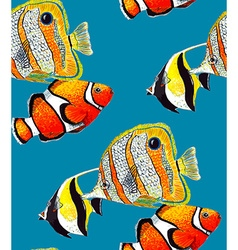 Fish Pattern3B vector image