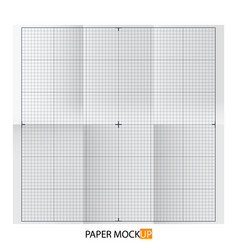 Paper poster for draft backgrpund mock up vector