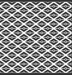 pattern 684 triangles dots vector image
