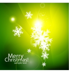 shiny chirstmas abstract background vector image