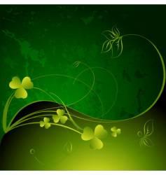 St Patrick background vector