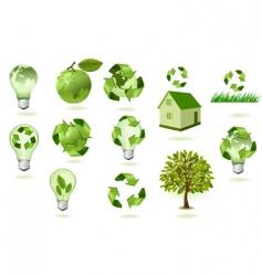 super set ecology econs vector image