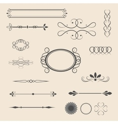 vintage items- vector image