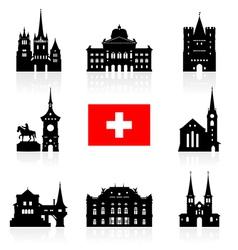 Switzerland Icon vector image vector image