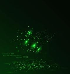 optical fibers vector image