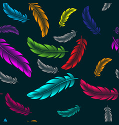 abstract bright background with colorful vector image