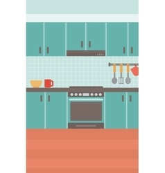 Background of kitchen vector