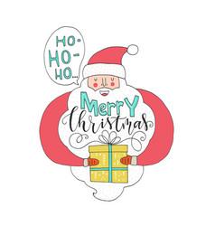 Christmas card design vector