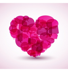 heart cartoon vector image