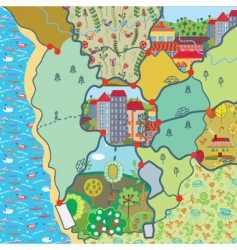Map patterns vector