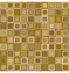 Textured Brick Pattern Mosaic vector image
