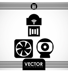 Webcam icon design vector