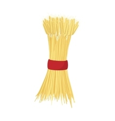 Sheaf of wheat icon cartoon style vector image vector image