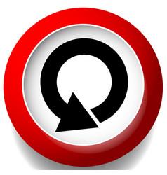 Circular 360 degree arrow icon phase cycle vector