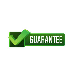 Guarantee stamp isolated on white background vector