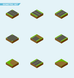 Isometric road set of rightward unilateral vector