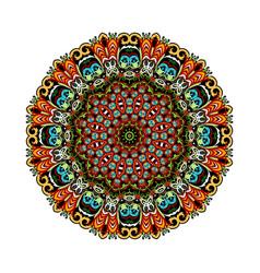 Mandala eastern style vector