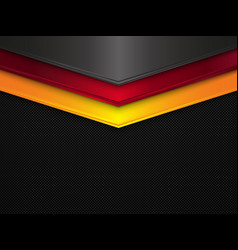 Metal texture background germany flag vector