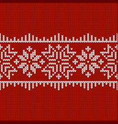 norwegian native style sweater ornament with vector image