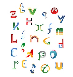 Set letters vector