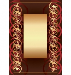 background frame vector image vector image