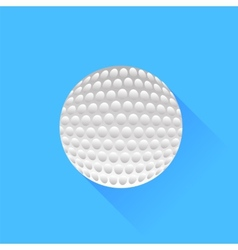 Colf Ball vector image