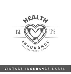 Insurance label vector