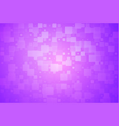 Purple pink glowing various tiles background vector