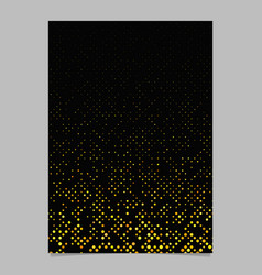 abstract seamless dot pattern brochure template vector image
