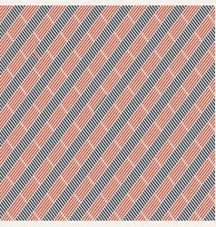 abstract seamless pattern of short diagonal vector image