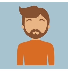 Man portrait icon image vector