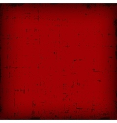 Red vintage editable grunge background vector image