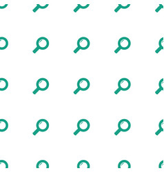 search icon pattern seamless white background vector image