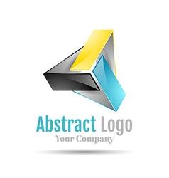 Triangle logo icon Template for your business vector