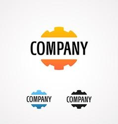 Logo for tech company vector image vector image
