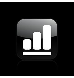 increase icon vector image