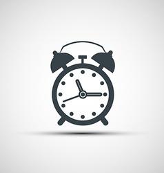 Icons alarm clock vector