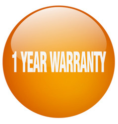 1 year warranty vector
