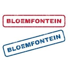 Bloemfontein Rubber Stamps vector image