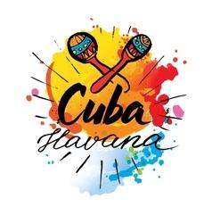 Cuba Havana logo vector