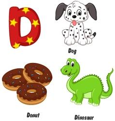 D alphabet vector