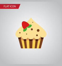 Isolated sweetmeat flat icon confectionery vector