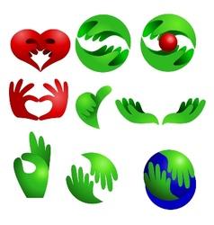 Logo collection set vector