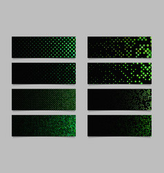 modern abstract dot pattern banner background vector image